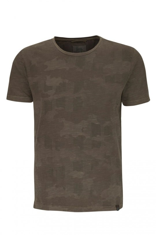 T-SHIRT CAMEL ACTIVE ΧΑΚΙ