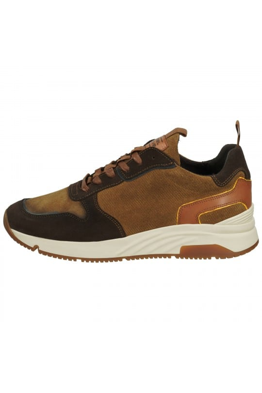 SUEDE SNEAKER ΚΑΦΕ CAMEL ACTIVE