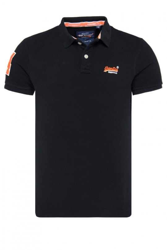 Polo Superdry Μπλε
