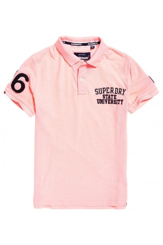 Polo Superdry Ροζ