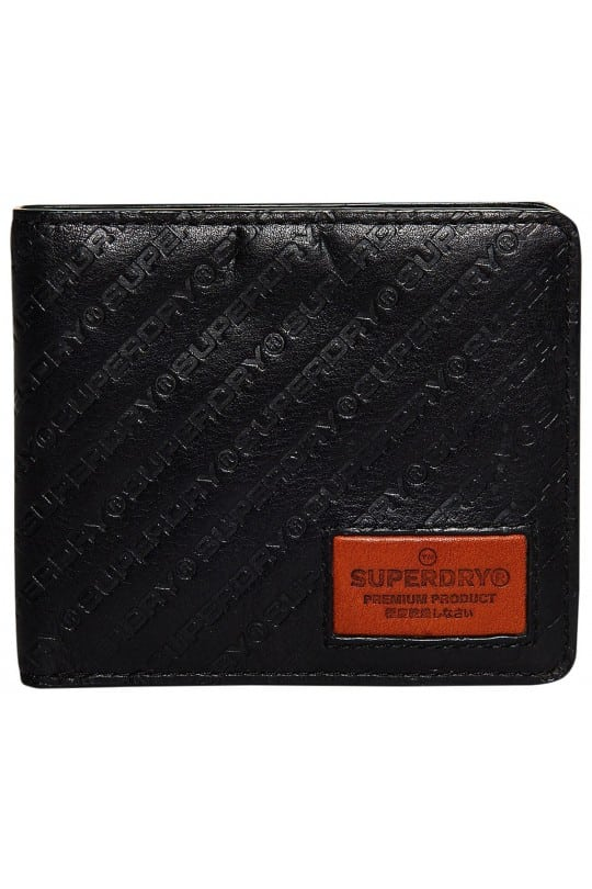 SUPERDRY BADGEMAN WALLET BLACK